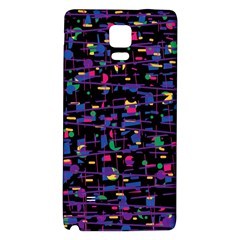 Purple galaxy Galaxy Note 4 Back Case