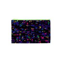 Purple Galaxy Cosmetic Bag (xs)