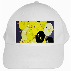 Yellow flock White Cap