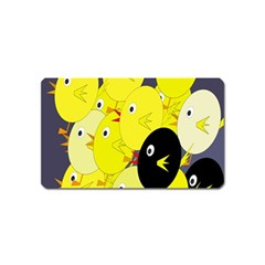 Yellow flock Magnet (Name Card)