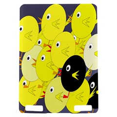 Yellow flock Kindle Touch 3G