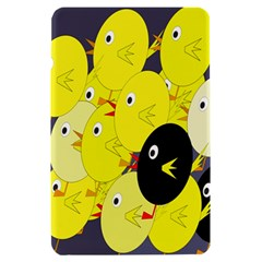 Yellow flock Kindle Fire (1st Gen) Hardshell Case