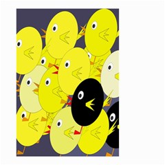 Yellow flock Small Garden Flag (Two Sides)