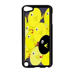 Yellow flock Apple iPod Touch 5 Case (Black)