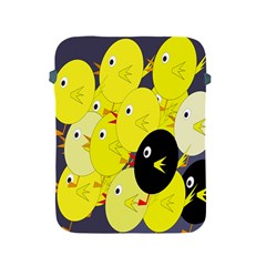 Yellow flock Apple iPad 2/3/4 Protective Soft Cases