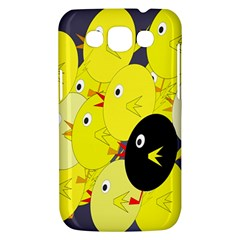 Yellow flock Samsung Galaxy Win I8550 Hardshell Case