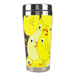 Yellow flock Stainless Steel Travel Tumblers