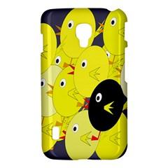 Yellow flock LG Optimus L7 II