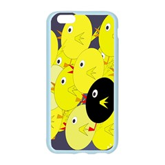 Yellow flock Apple Seamless iPhone 6/6S Case (Color)