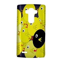 Yellow flock LG G4 Hardshell Case
