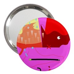 Mythology  3  Handbag Mirrors