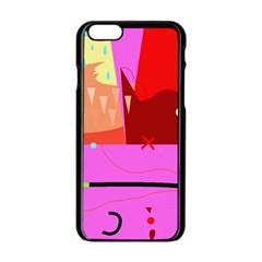 Mythology  Apple iPhone 6/6S Black Enamel Case