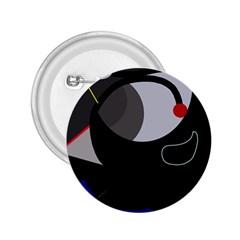 Gray bird 2.25  Buttons