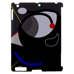 Gray bird Apple iPad 2 Hardshell Case (Compatible with Smart Cover)