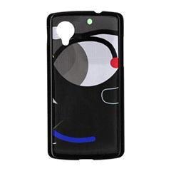 Gray bird Nexus 5 Case (Black)