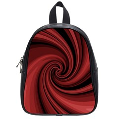 Elegant red twist School Bags (Small)