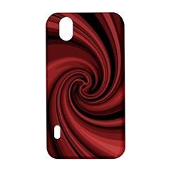 Elegant red twist LG Optimus P970