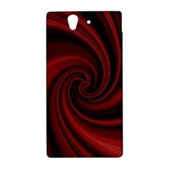 Elegant red twist Sony Xperia Z