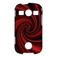Elegant red twist Samsung Galaxy S7710 Xcover 2 Hardshell Case
