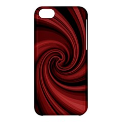 Elegant red twist Apple iPhone 5C Hardshell Case