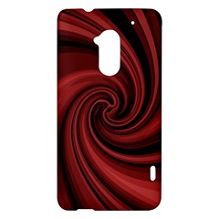 Elegant red twist HTC One Max (T6) Hardshell Case