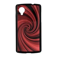 Elegant red twist Nexus 5 Case (Black)
