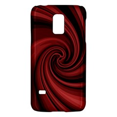 Elegant red twist Galaxy S5 Mini