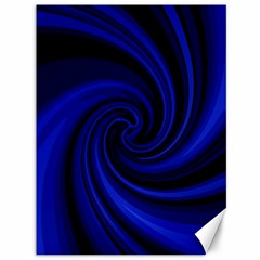 Blue decorative twist Canvas 36  x 48