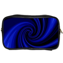 Blue decorative twist Toiletries Bags