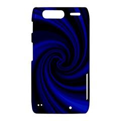Blue decorative twist Motorola Droid Razr XT912