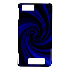 Blue decorative twist Motorola DROID X2