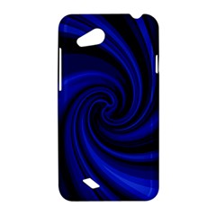 Blue decorative twist HTC Desire VC (T328D) Hardshell Case