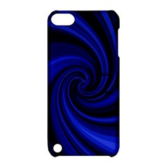 Blue decorative twist Apple iPod Touch 5 Hardshell Case with Stand