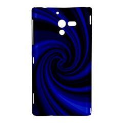 Blue decorative twist Sony Xperia ZL (L35H)