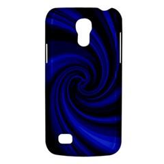 Blue decorative twist Galaxy S4 Mini
