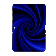 Blue decorative twist Samsung Galaxy Tab 2 (10.1 ) P5100 Hardshell Case