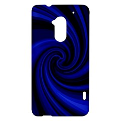 Blue decorative twist HTC One Max (T6) Hardshell Case