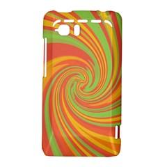 Green and orange twist HTC Vivid / Raider 4G Hardshell Case