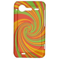 Green and orange twist HTC Incredible S Hardshell Case