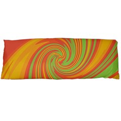 Green and orange twist Body Pillow Case (Dakimakura)