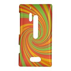 Green and orange twist Nokia Lumia 928