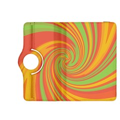 Green and orange twist Kindle Fire HDX 8.9  Flip 360 Case