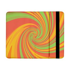 Green And Orange Twist Samsung Galaxy Tab Pro 8 4  Flip Case
