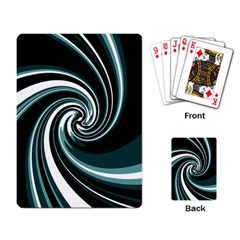 Elegant twist Playing Card