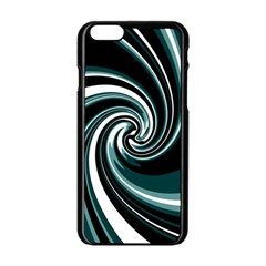 Elegant twist Apple iPhone 6/6S Black Enamel Case