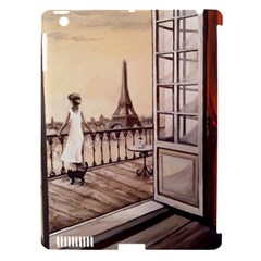 Paws For Thought  Paris Apple iPad 3/4 Hardshell Case (Compatible with Smart Cover)