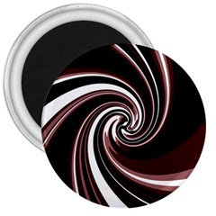 Decorative twist 3  Magnets