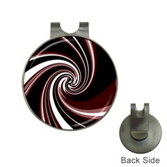 Decorative twist Hat Clips with Golf Markers