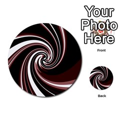 Decorative twist Multi-purpose Cards (Round)