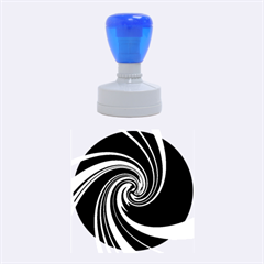 Decorative twist Rubber Round Stamps (Medium)